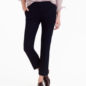 J Crew Campbell Cropped Pants Black
